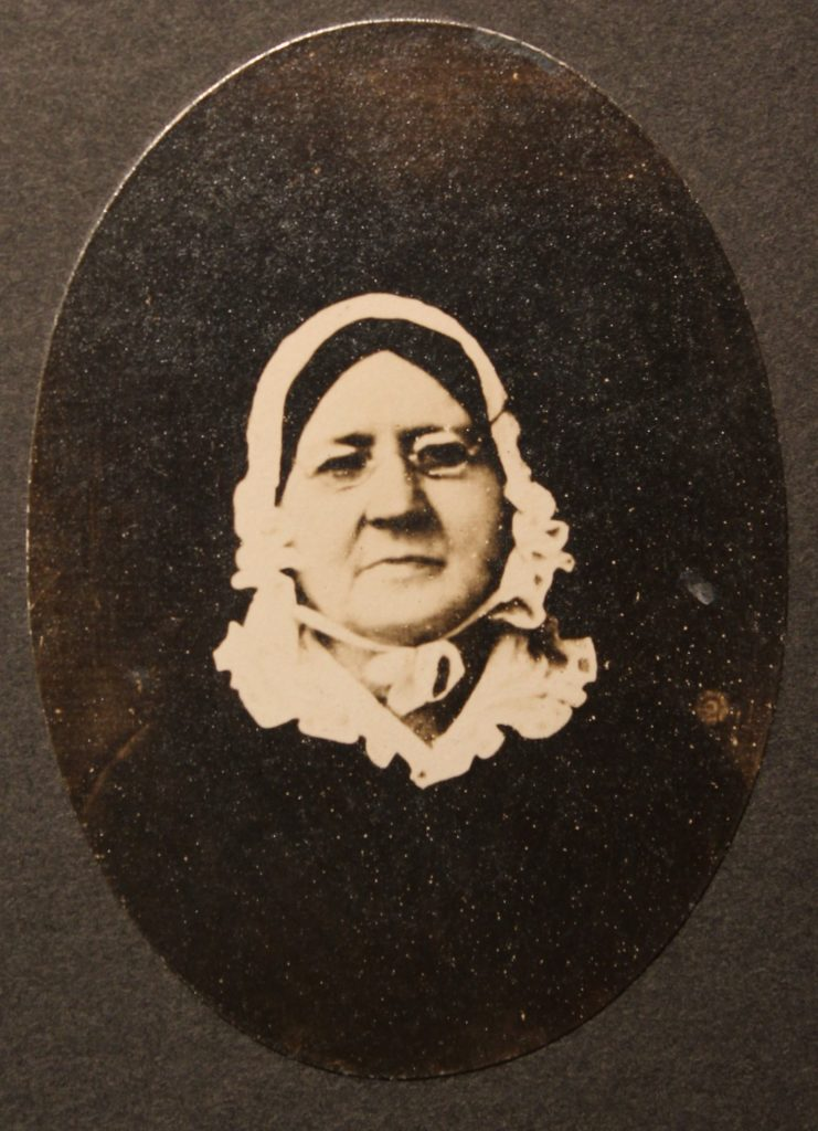 Mary Young Pickersgill, c. 1850.